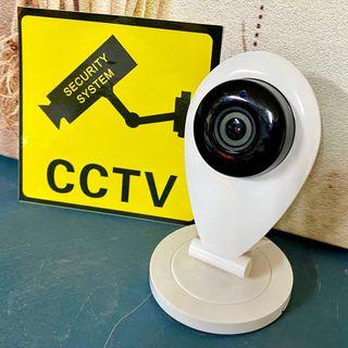 Cámara de Vigilancia con Señalizaciones #Pregunta