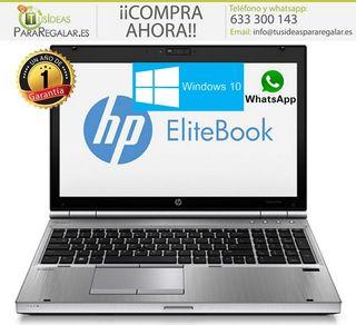 "Portátil Hp EliteBook 8570p, i7 4 Núcleos/ 15,6""/8"