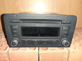 Reproductor Audi A4 2din