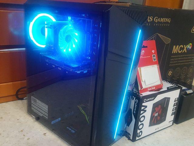 ORDENADOR GAMER I5 16GB/SSD480/GTX1050TI 4GB