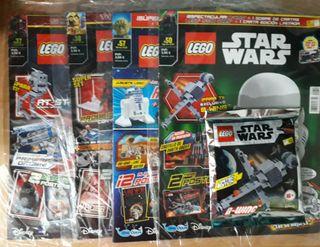 Lego Star Wars B-Wing + 4 revistas