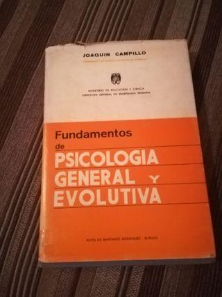 fundamentos de psicologia feneral y evolutiva
