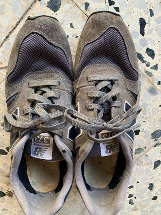 Zapatillas New Balance gris 45