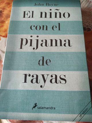 libro el niño del pijama de rayas