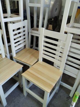 sillas mesas taburete