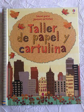 Libro taller papel-cartulina