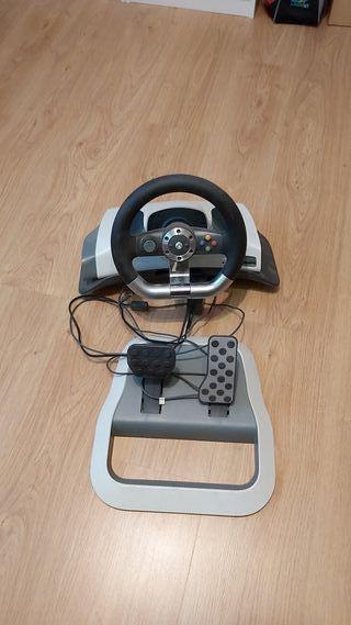 xbox 360 con volante