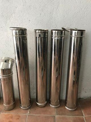 Tubo de acero inoxidable para estufa
