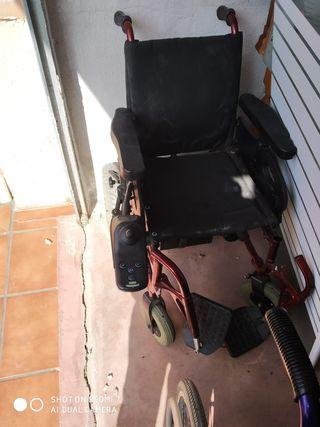 silla de ruedas eléctrica