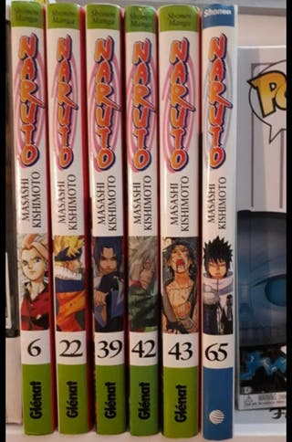 Lote* 5 Comics Naruto + 1 de regalo