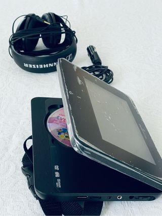 DVD PLAYER ENERGY SISTEM 7 portable 270 Nuevo