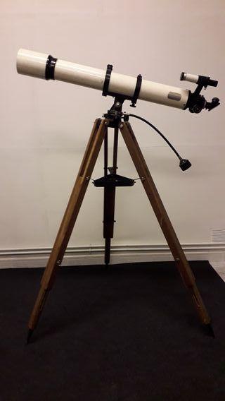 Telescopio Vintage.Decoración/Lampara