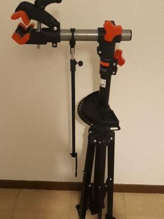 Caballete reparación para bicicleta