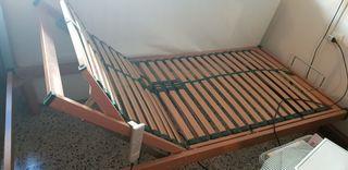 cama plegable eléctrica más colchon