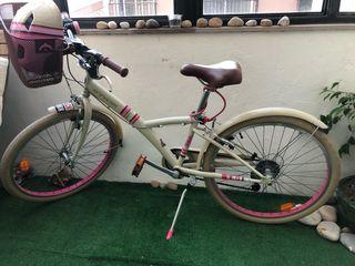 Bicicleta Niña 24 pulgadas popply 500 BTwin