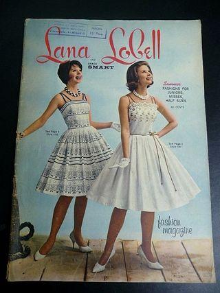 1961. LANA LOBELL Fashion Magazine