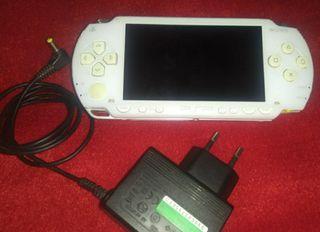 PSP blanca,consola PSP blanca