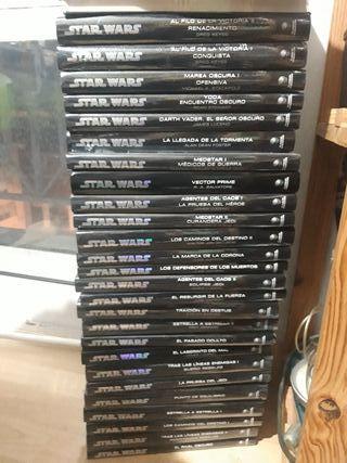 Star Wars coleccion libros