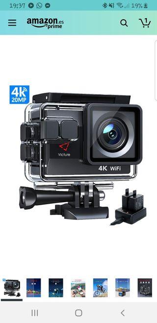 cámara deportiva ultra hd 4k