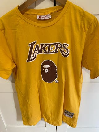 Camiseta Bape Lakers Como nueva