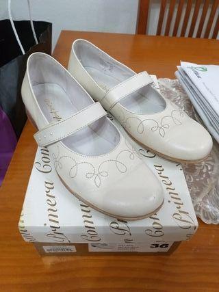 Zapatos niña comunión número 36