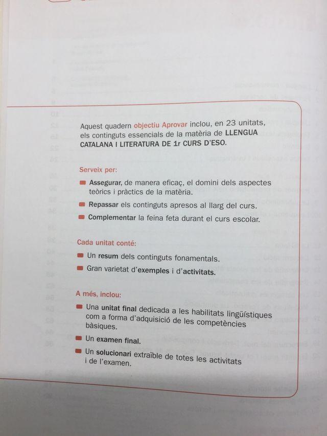 Libros repaso 1o ESO