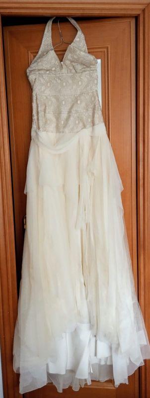 vestido de novia.yolan Cris .alta costura