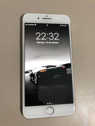 Vendo iphone 7plus+10 fundas+3 protectores