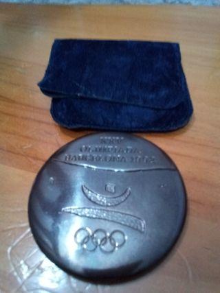 medalla de colaboración olimpiadas barcelona 92