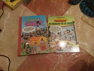 Libros Mortadelo y Filemon