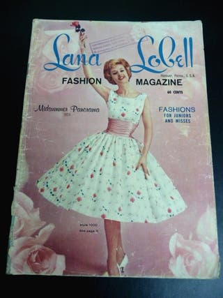 1959. LANA LOBELL Fashion Magazine