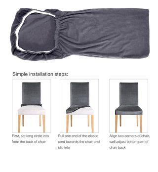 Fundas elásticas para silla