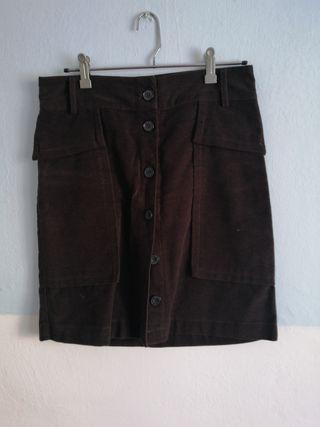 falda de algodon