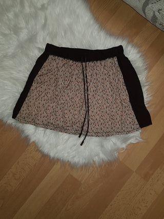 mini falda Bershka S