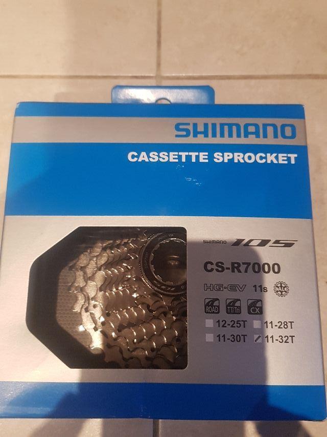 piñon shimano CS-R7000 11-32T nuevo a estrenar