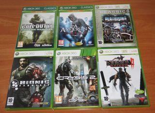 Lote VideoJuegos Xbox 360