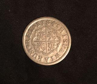 1 Real de Plata Ferdin VI año 1754
