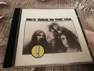 MC5 - Back in the USA CD