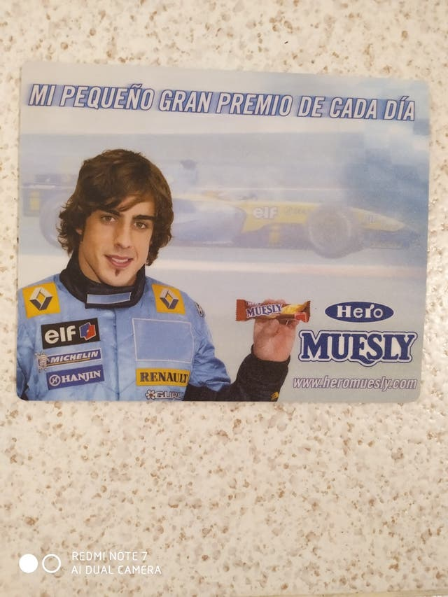 Alfombrilla para mouse - Fernando Alonso