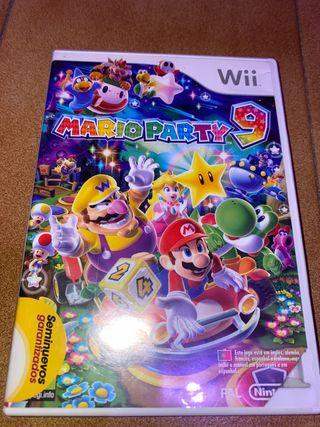 Juego Mario party 9
