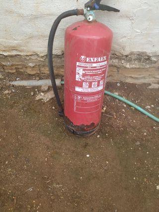 extintor vacio envase