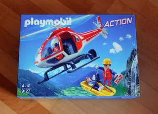 Playmobil 9127 Helicoptero de rescate
