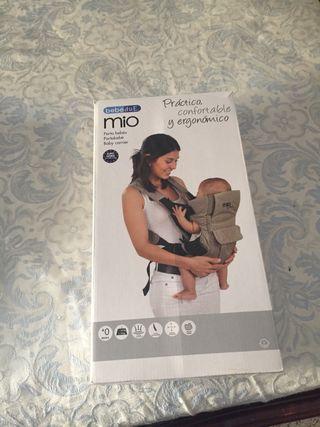 Mochila ergonomica bebé