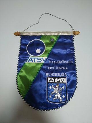 Banderín ATSV Tenis mesa Bundesliga Retro Vintage