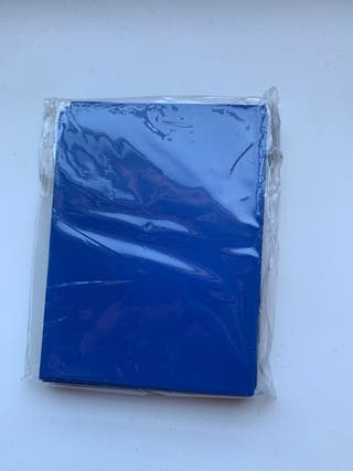 Paquete fundas azules cartas magic