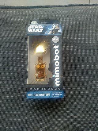 Pendrive USB C3PO 4G Star Wars
