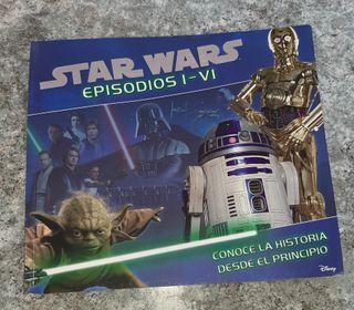 Libro Star Wars episodios del I al VI