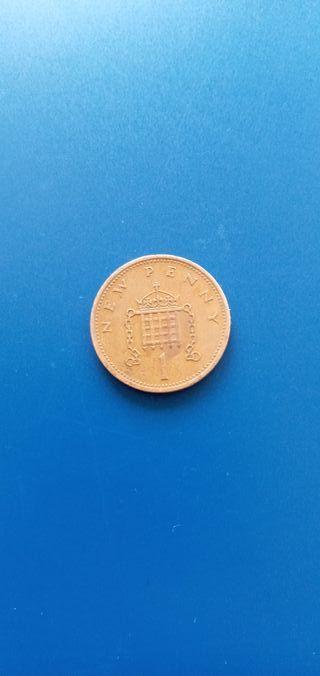 UK 1p new penny 1971