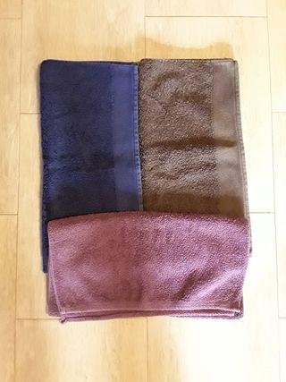 Lote 3 toallas 45 x 95 cm