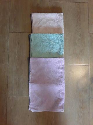 lote 3 toallas 50 x 78 cm